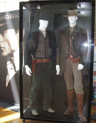Appaloosa western movie costumes on display