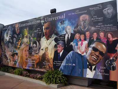 Universal Studios Hollywood wall of fame