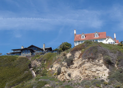 Zuma Beach houses in Malibu
