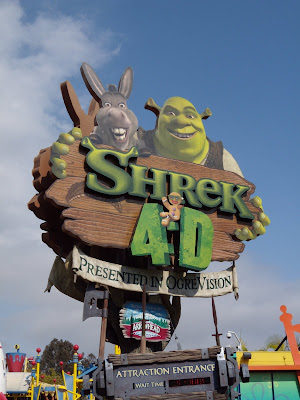 Shrek 4D ride at Universal Studios