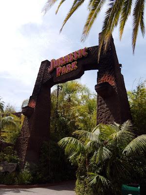 Universal Studios Jurassic Park ride