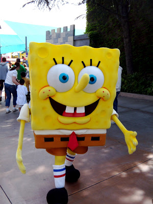 Spongebob Squarepants at Universal Studios