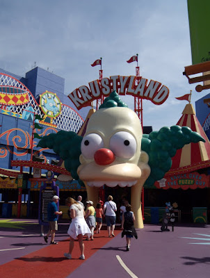 Krustyland Simpsons Ride