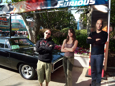 Jason with the Fast & Furious movie stars