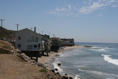 Malibu beach homes