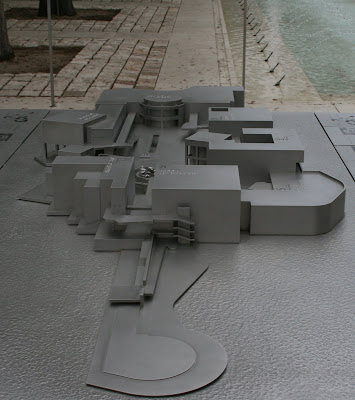 Model of The Getty Center