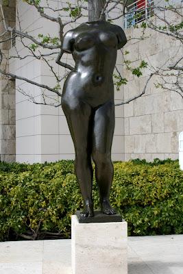 Torso of Summer sculpture