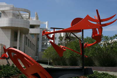 Mark di Suvero's Gandydancer's Dream sculpture