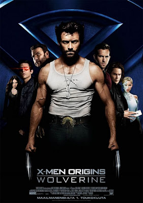 X-Men Origins - Wolverine movie cast poster