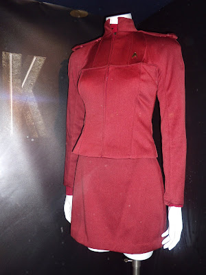 New Star Trek red Starfleet cadet movie costume