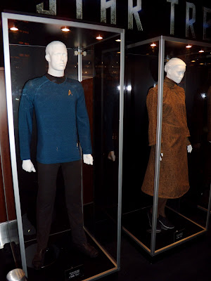 Star Trek new blue Starfleet uniform