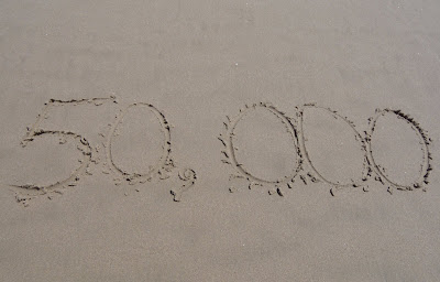 50,000 visitors in the sand