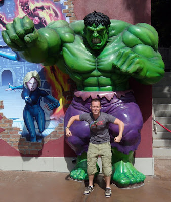 Jason in Hollywood hulks out
