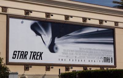 Star Trek Enterprise movie billboard