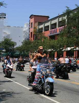 Gay bikers at West Hollywood Gay Pride Parade 2008