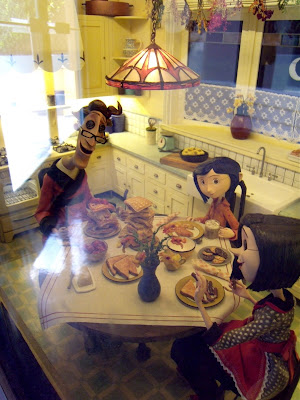 Original Coraline stop-moyion animation models