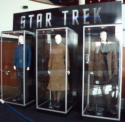 Starfleet, Vulcan and Romulan costumes from the new Star Trek movie