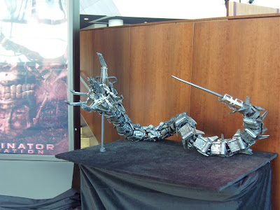 Robot movie prop from Terminator Salvation