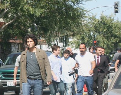 Adrian Grenier and cast of Entourage TV series