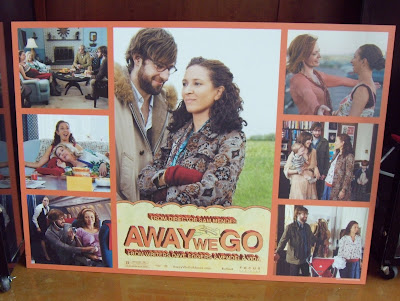 Away We Go movie poster montage