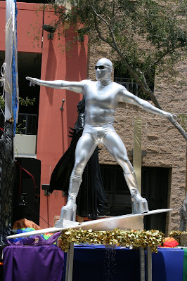 The Silver Surfer at West Hollywood Gay Pride Parade 2009