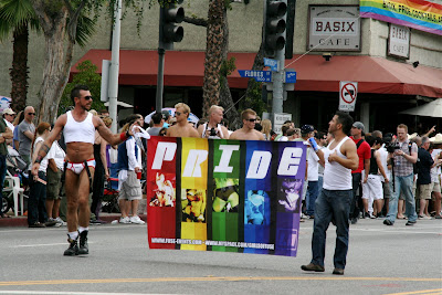 Gay Pride at WEHO Parade 2009