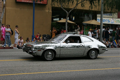 West Hollywood Gay Pride Parade 2009 Glitterball car