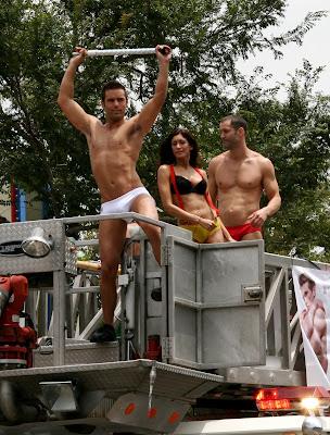 West Hollywood hot guys at Gay Pride Parade 2009