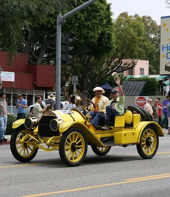 Vintage car at West Hollywood Gay Pride Parade 2009