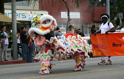 West Hollywood Gay Pride Parade 2009 Chinese Dragon