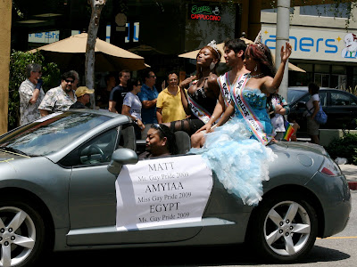 Mr and Miss Gay Pride WEHO Parade 2009