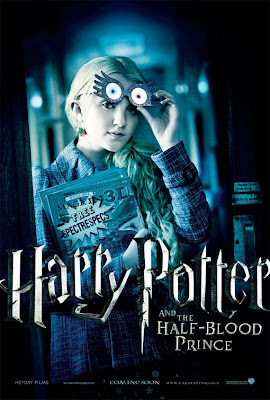 Luna Lovegood in Harry Potter 6 movie poster