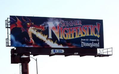 Disneyland Summer Nightastic billboard