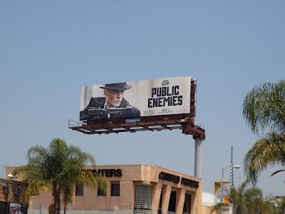 Public Enemies movie billboard