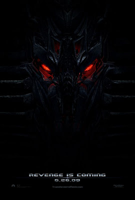 Transformers Revenge of the Fallen teaser movie poster