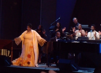 Soul Diva Aretha Franklin at Hollywood Bowl