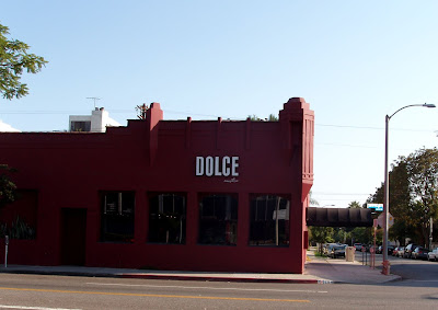 Dolce Restaurant on Melrose Avenue now closed