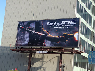 GI Joe movie bilboard