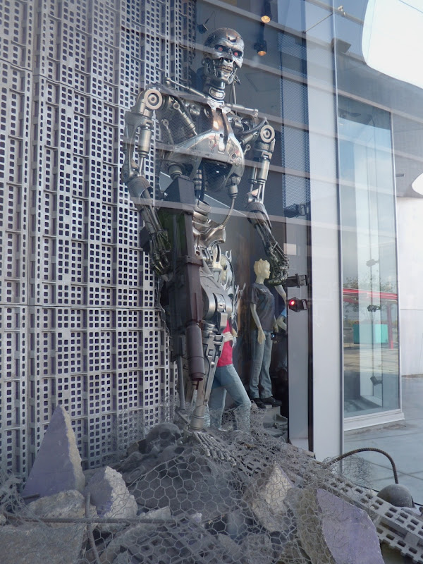 Terminator T-800 endoskelton at Universal Studios Hollywood
