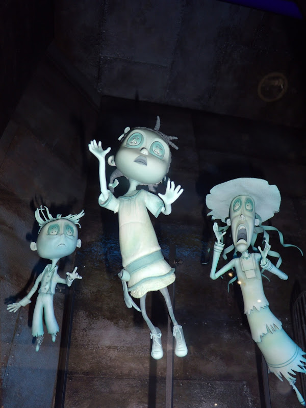 Coraline movie stop-motion models