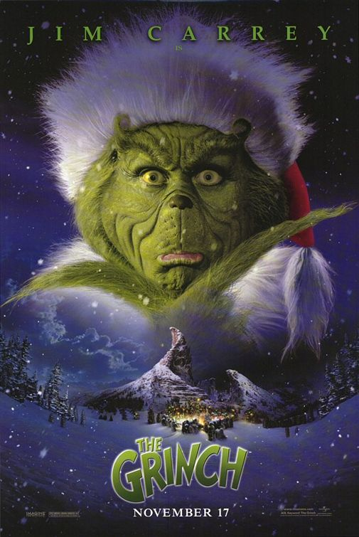 Dr Seuss's How the Grinch stole Christmas movie poster