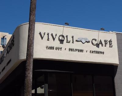 Vivoli Cafe sign cherub
