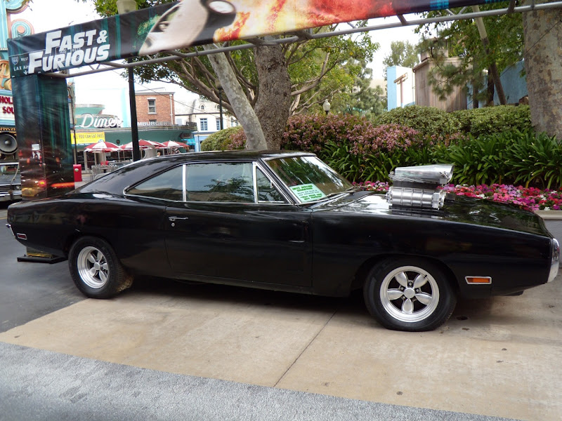 Fast & Furious 1970 Dodge Charger stunt car