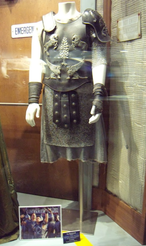 Russell Crowe's Maximus costume in Galdiator