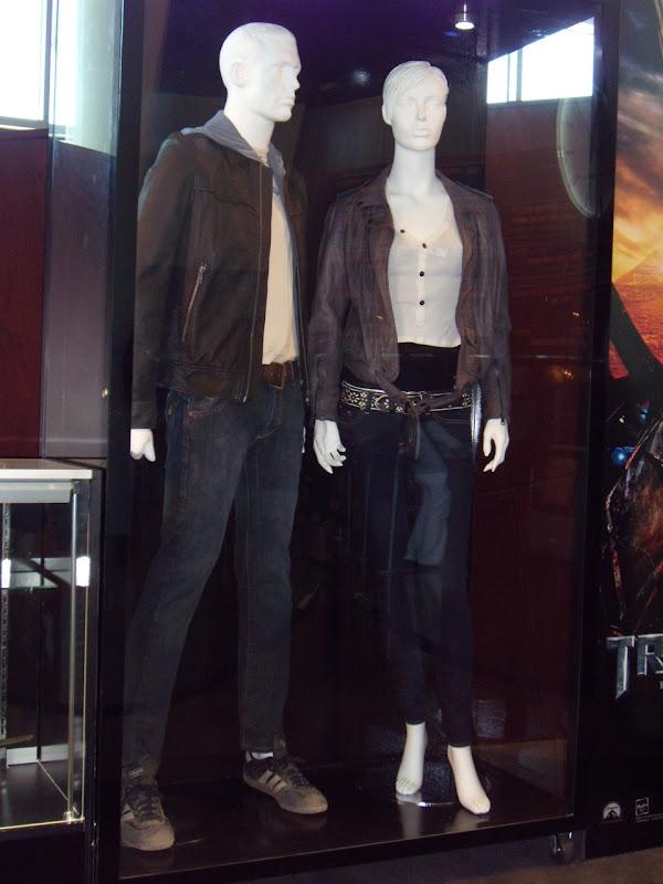 Shia LaBeouf and Megan Fox Transformers 2 movie costumes