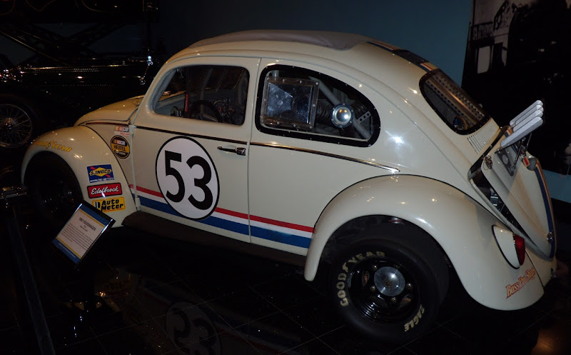Actual Herbie Fully Loaded VW Beetle movie car