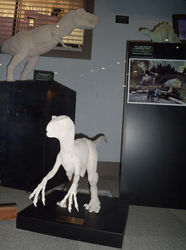 The Lost World Jurassic Park dinosaur models