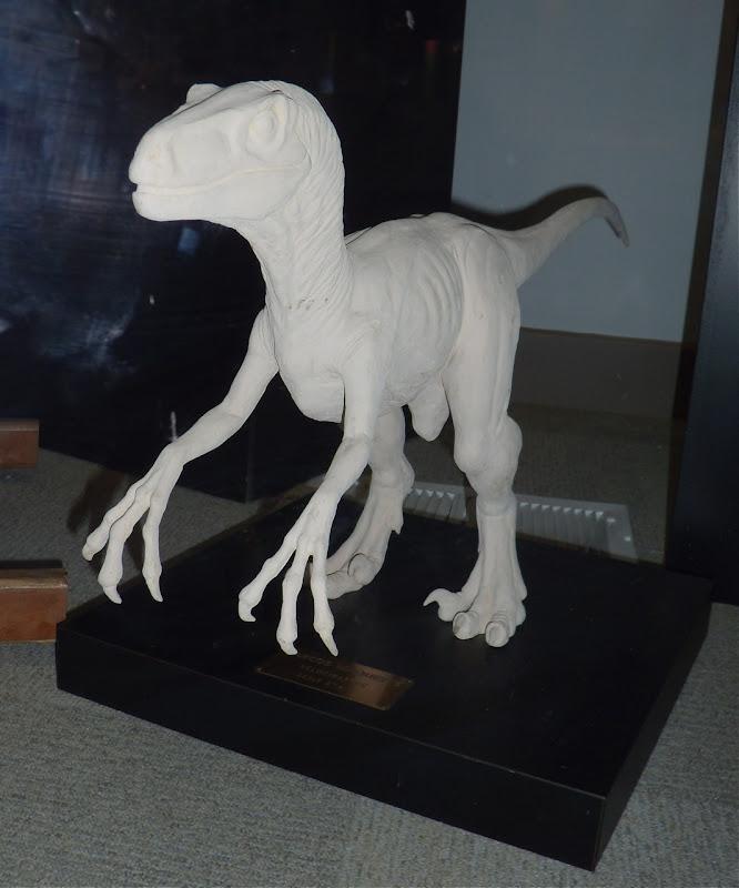 Velociraptor dinosaur Jurassic Park model
