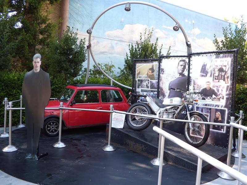 Matt Damon's Bourne Identity and Bourne Ultimatum picture cars