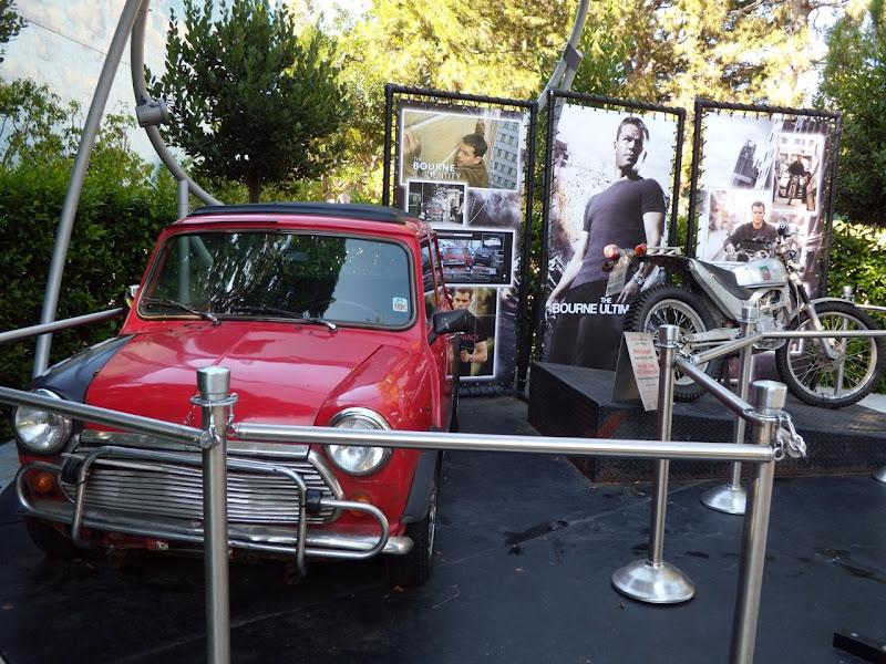 Original Bourne movie vehicles